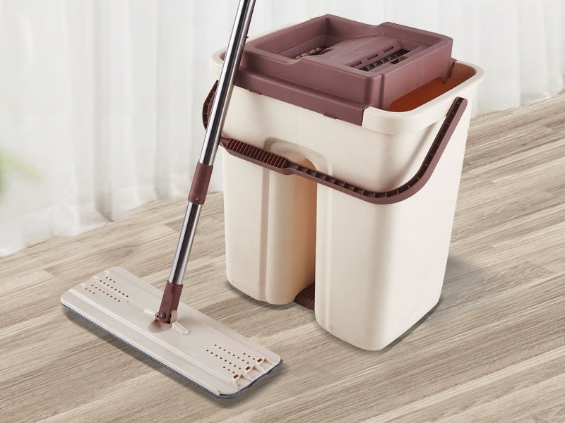 Microfibre Mop with Mop Bucket