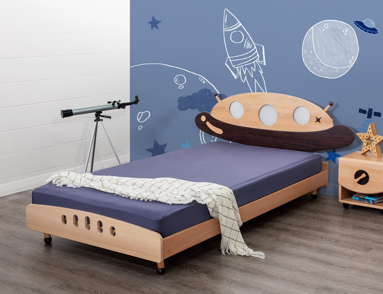 UFO Single Bed Frame