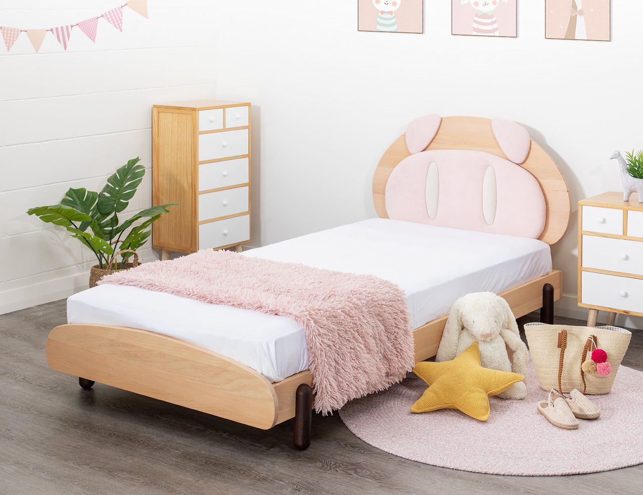 Pig Single Bed Frame