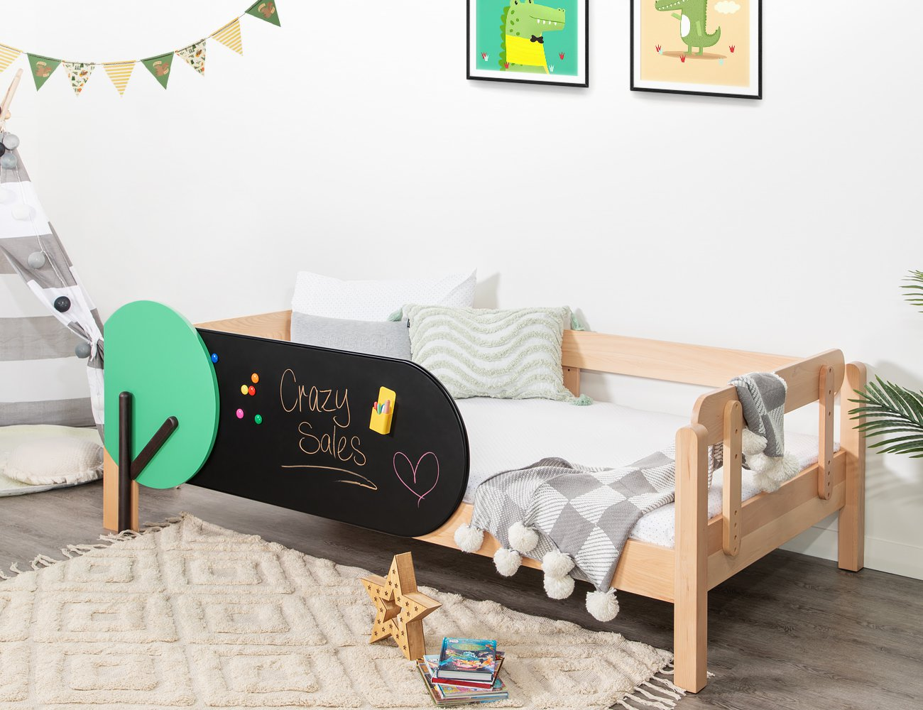 Tree King Single Bed Frame