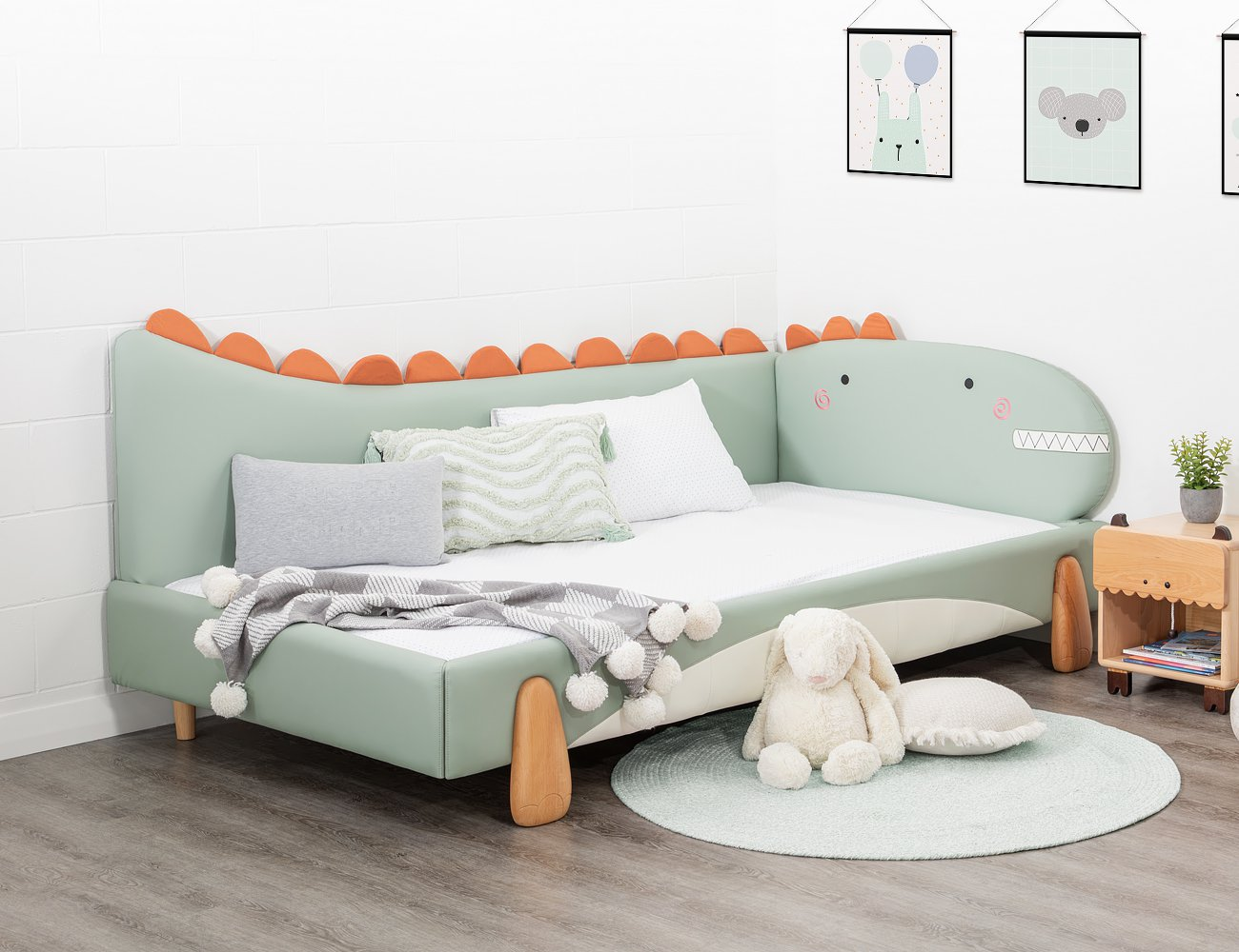 Dinosaur King Single Bed Frame