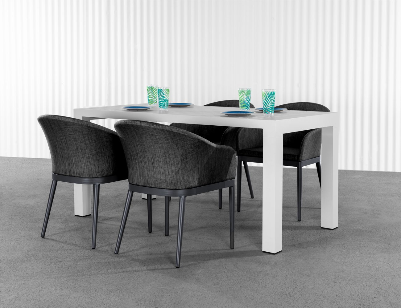 Cirrus Outdoor Table - White