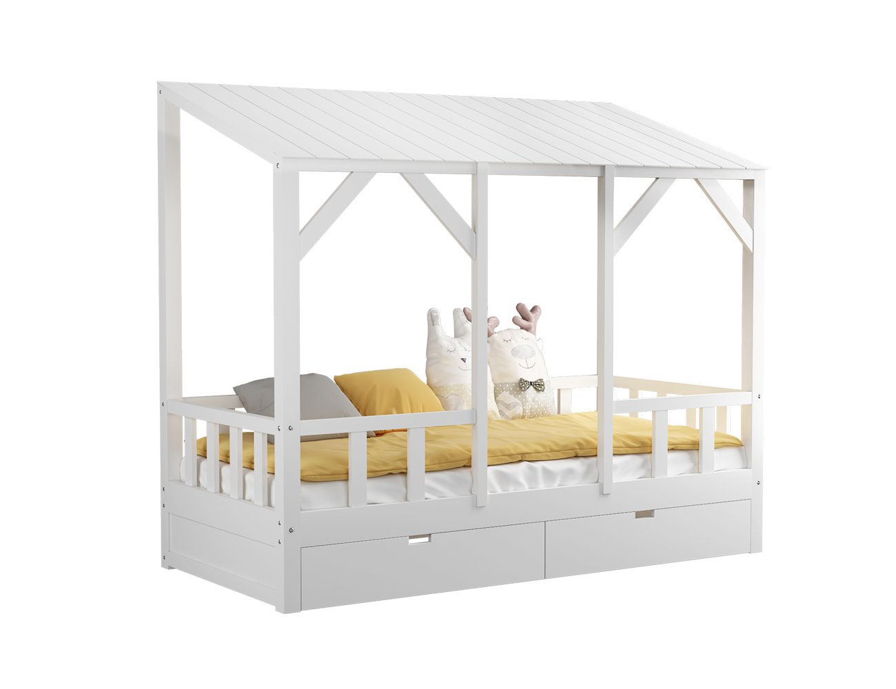 Lina Kids Single Bed Frame
