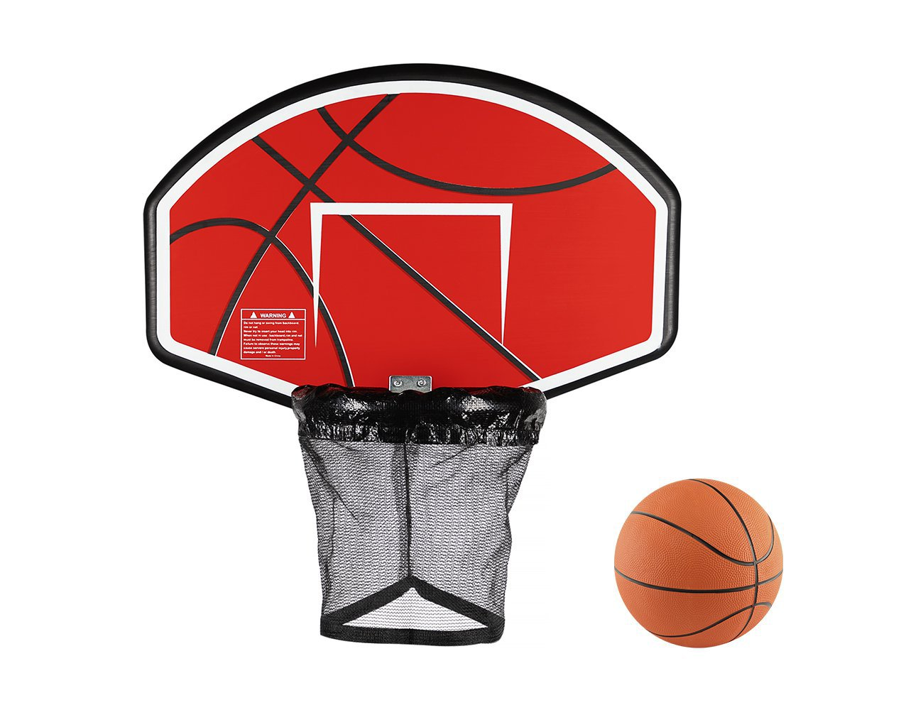 Basketball Hoop for a Trampoline