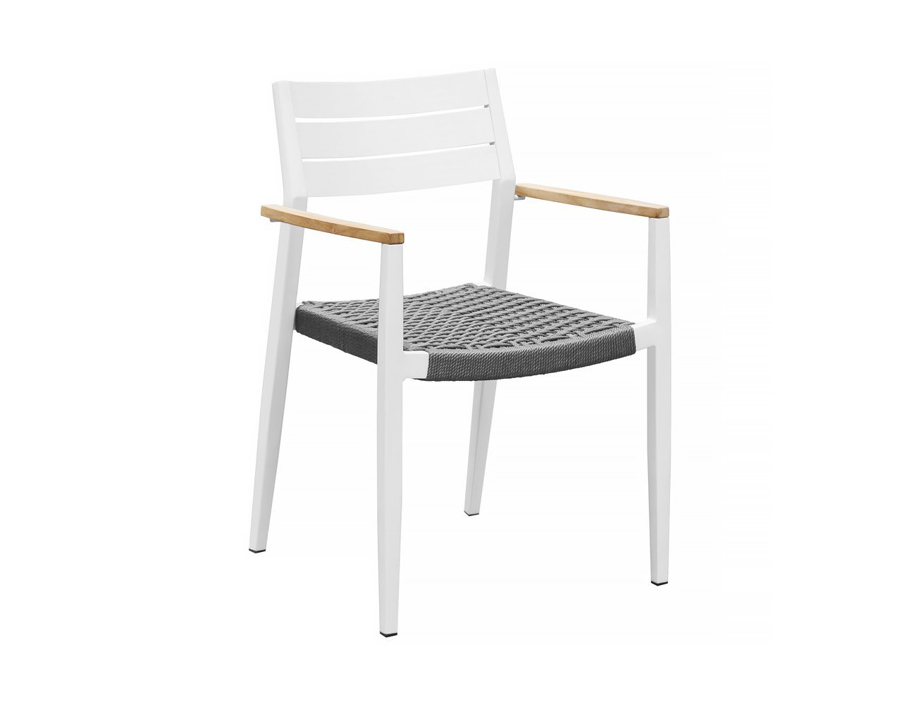 Albatross Outdoor Dining Chair - White