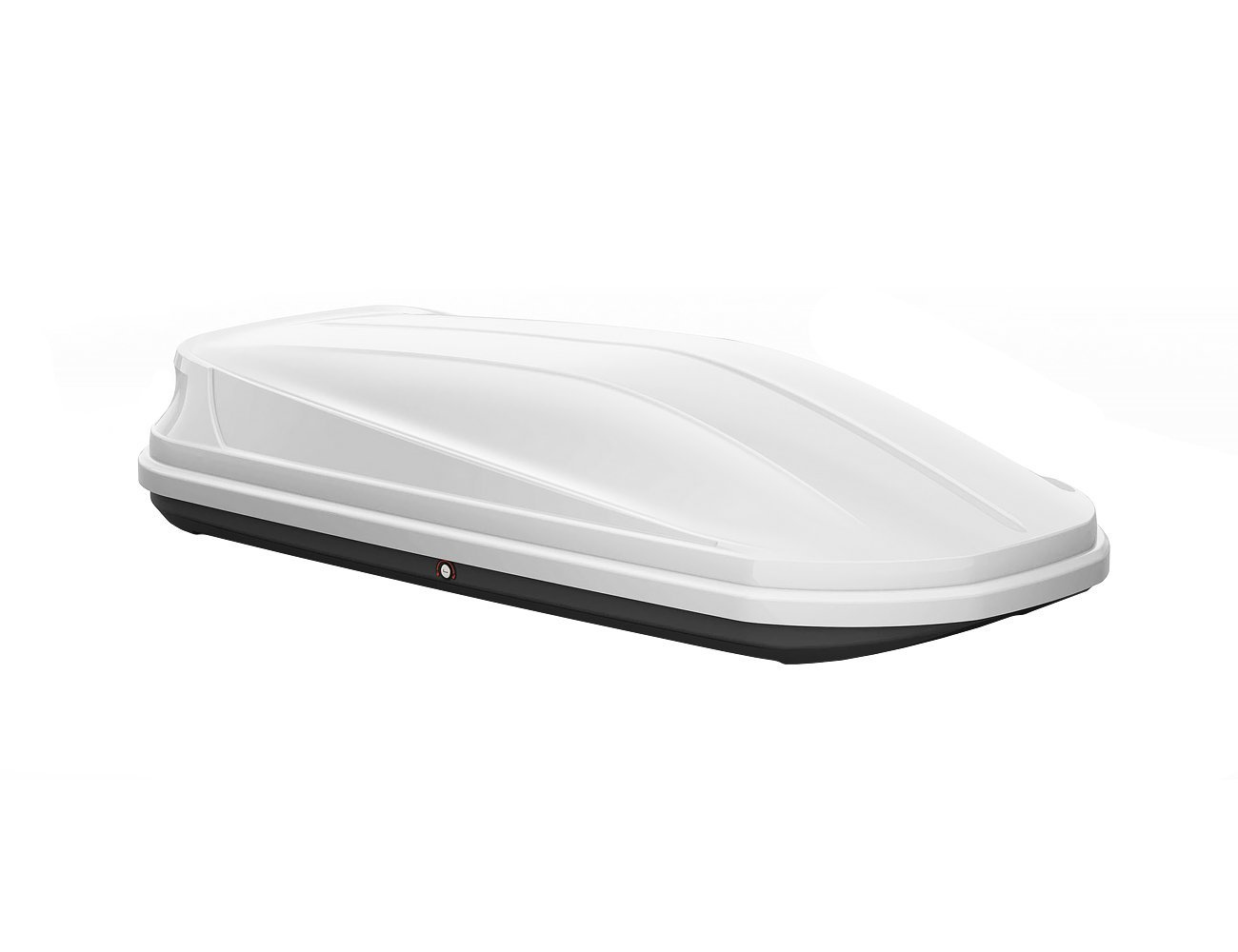 Car Roof Box - White 650L