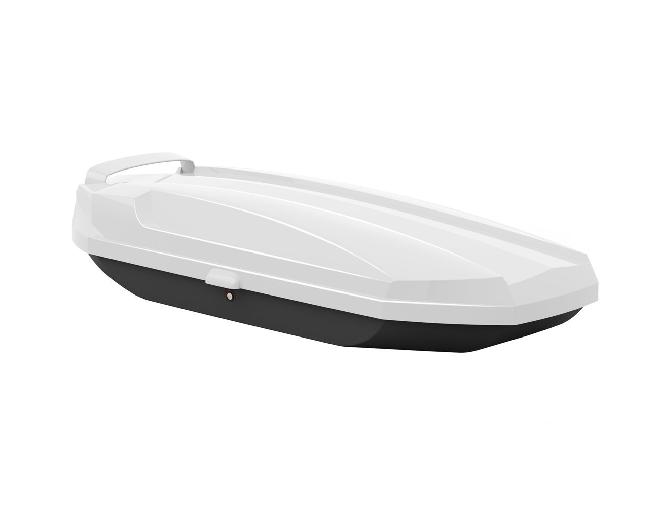 Slimline Car Roof Box - White 850L