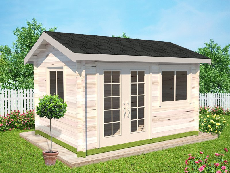 Beacon Log Cabin Garden House - 3.9 x 3m