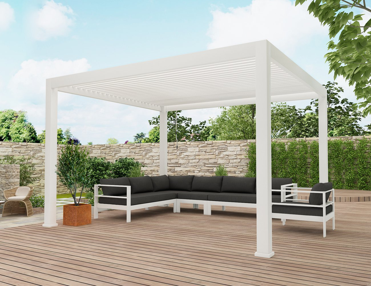 Sandpiper Outdoor Lounge Setting - White