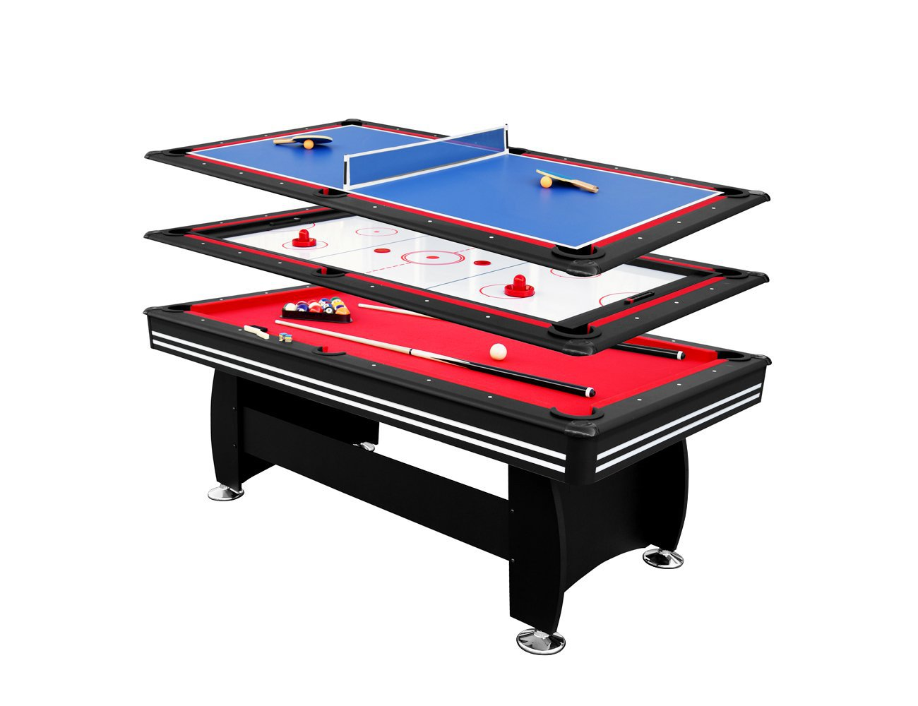 Multifunctional 3-in-1 Games Table