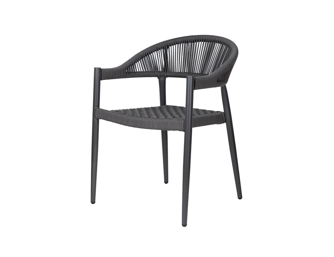 Kingfisher Aluminium and Rope Dining Chair