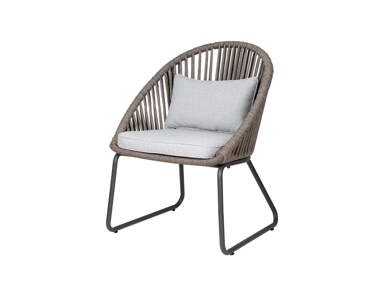 Rifleman Aluminium and Rope Outdoor Dining Chair