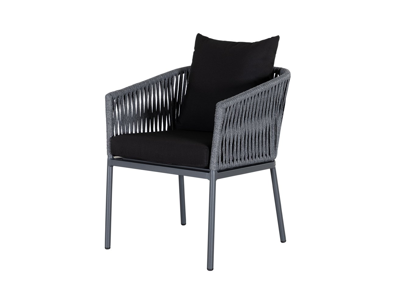 Shearwater Aluminium & Rope Outdoor Dining Chair