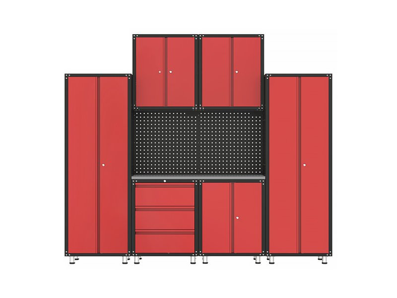 Garage Organisation Cabinet & Workbench