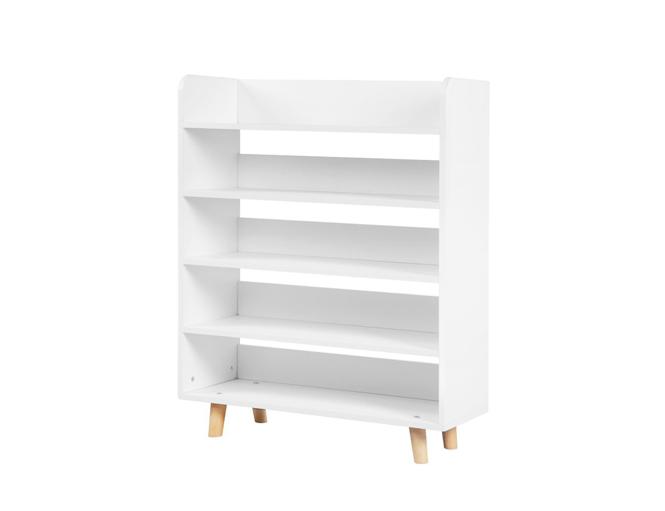 Nordic Style Shoe Storage Shelf - White