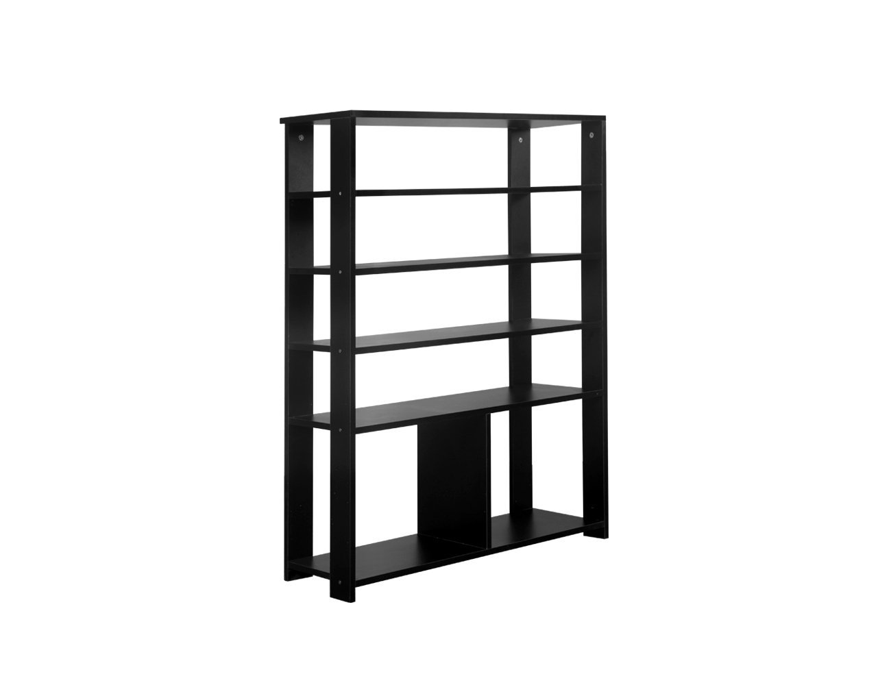 6 Layer Storage Shelf - Black