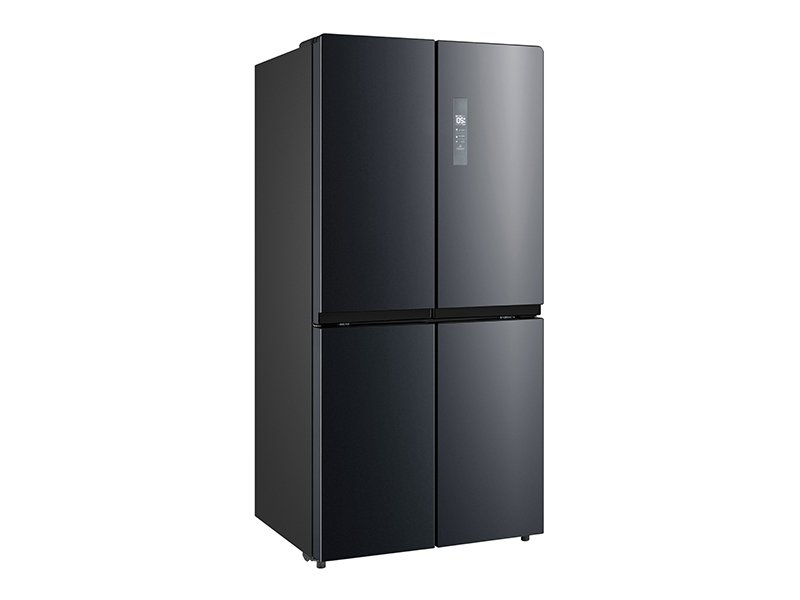 Midea 545L Cross Door Fridge Freezer Black S/S
