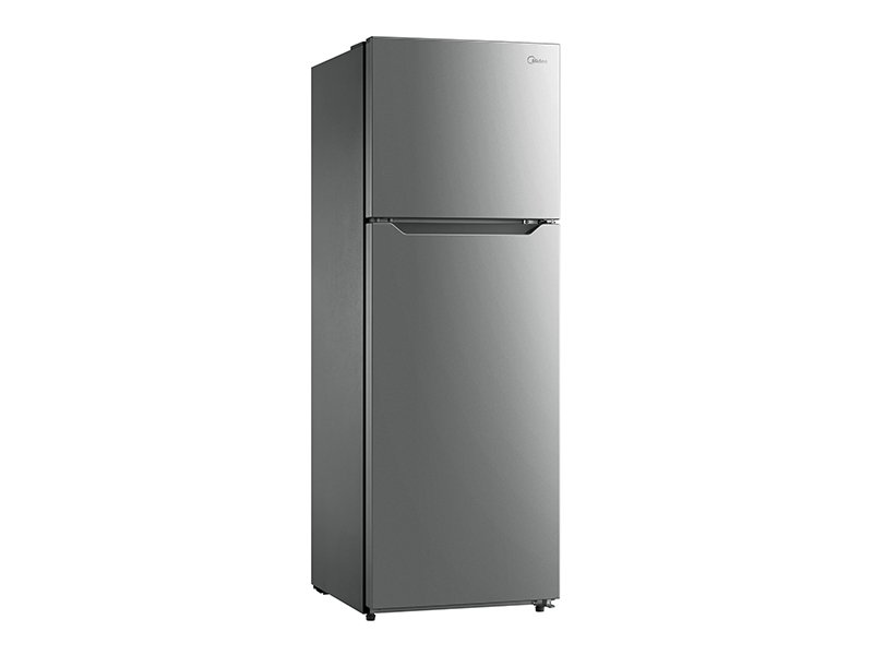Midea 372L Top Mount Fridge Freezer S/S