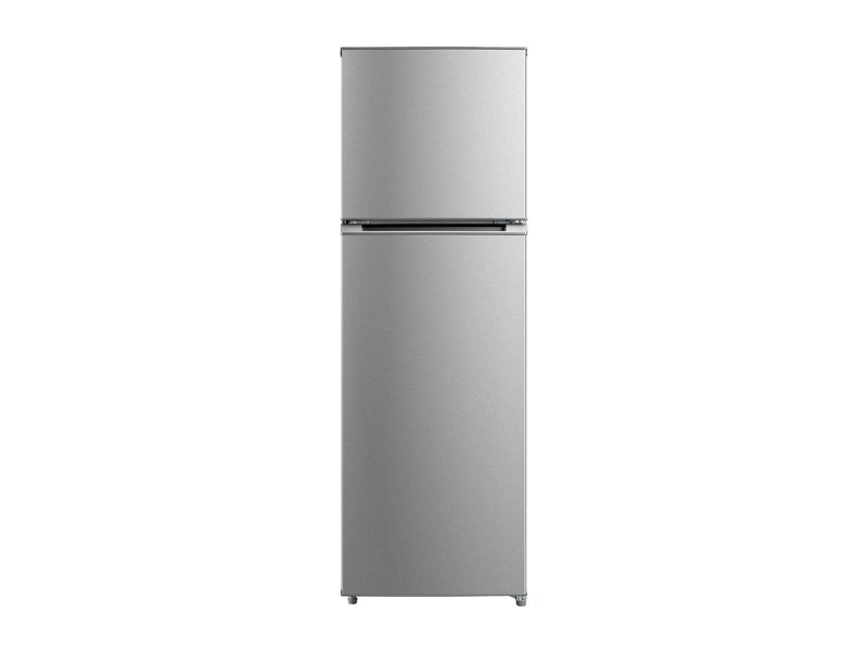 Midea 268L Freezer Fridge Stainless Steel