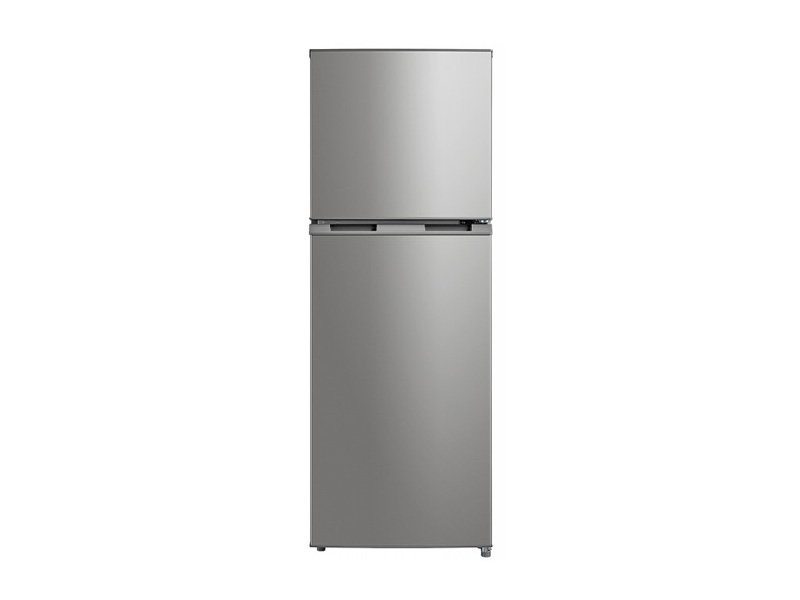 Midea 239L Fridge Freezer Stainless Steel