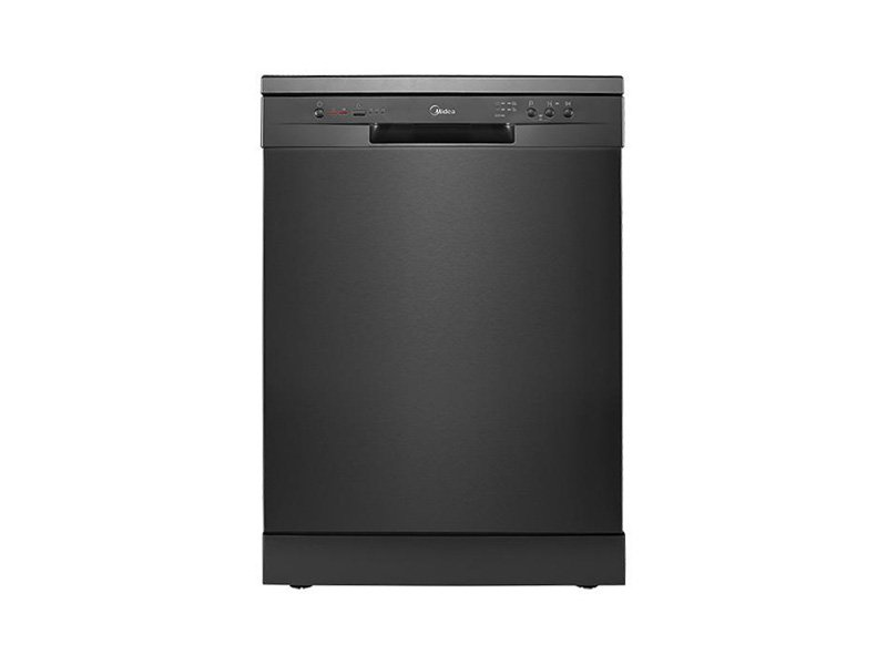 Midea 14 Place Setting Dishwasher Black Steel