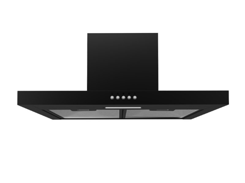 Midea 60cm T-Shape Rangehood Black