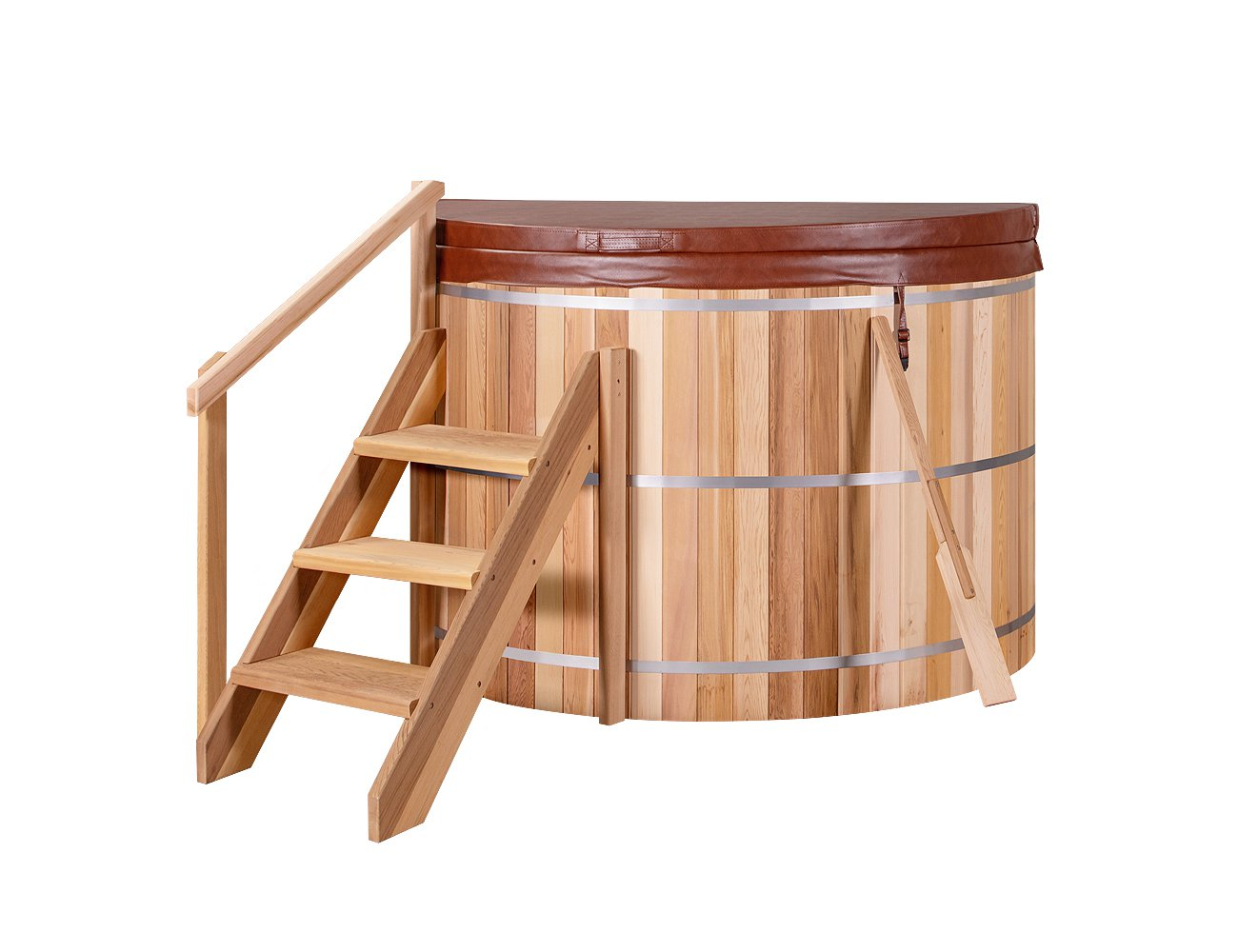 1.8m Wood Fired Hot Tub - Assembly Included