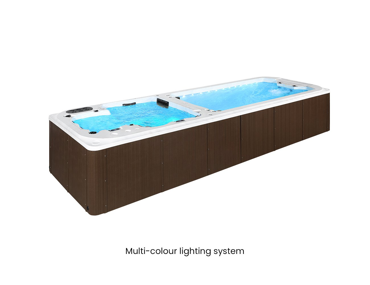 Tekapo 6.8m Dual Zone Swim Spa