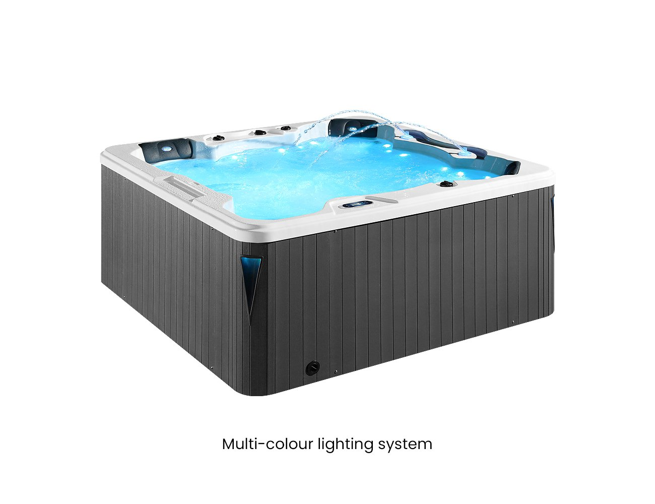 Tarawera 6 Seater Spa Pool