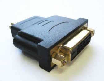 DVI Female To HDMI Male Gold plated Adaptor