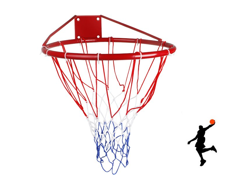 Classic Basketball Hoop with Net