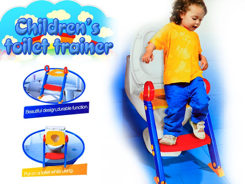 Toddler Toilet Trainer with Ladder