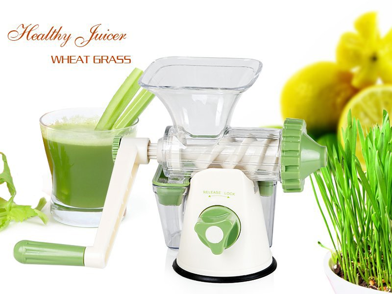 Manual Wheatgrass vegetable Juicer @ Crazy Sales - We have the best daily deals online!