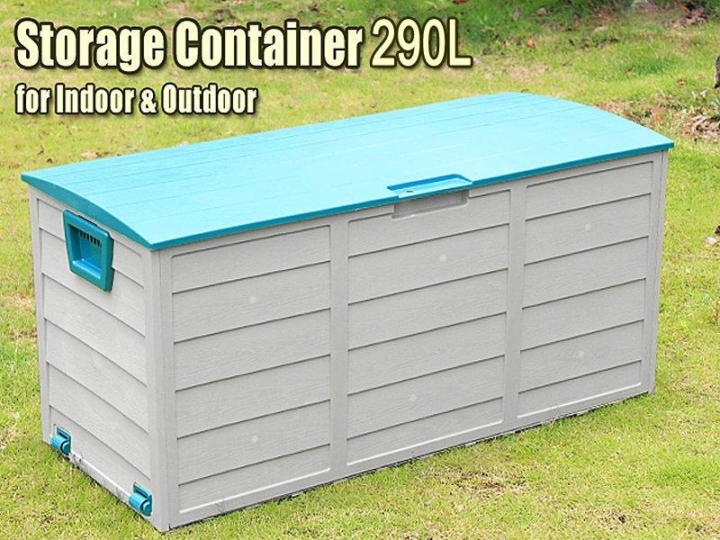 290l outdoor storage container box crazy sales we have