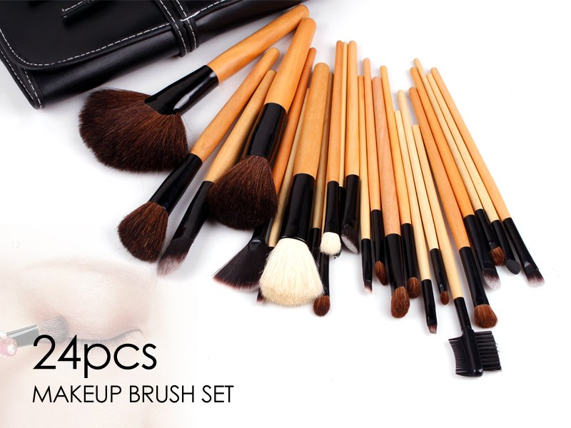 Makeup Brush Set - 24pc