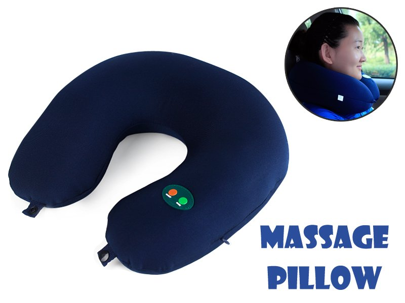 Vibrating Animal Neck Pillow : Vibrating Massage Neck Pillow @ Crazy Sales - We have the best daily deals online!
